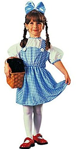 Dorothy Wizard Of Oz Costume Pattern (Toddler Wizard of Oz Dorothy Costume,Blue,Infant)