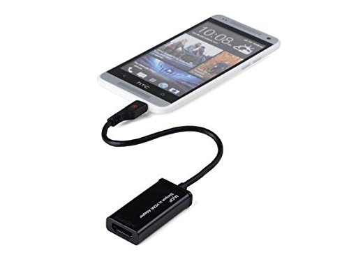 Professional SlimPort Adapter works with Amazon Fire HD 7! Connect while charging to any HDMI TV, HDMI Monitor, HDMI Projectors, or any HDMI Enabled device. by Volt Plus Tech