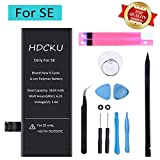 HDCKU Battery Replacement Kit Compatible for iPhone SE A1723,A1662,A1724 Battery Repair with Repair Tools and Instruction (365 Days Warranty)