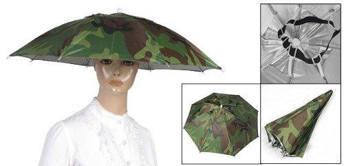 maltonyo17/diadema el/ástica patr/ón camuflaje sol al aire libre lluvia paraguas sombrero gorra