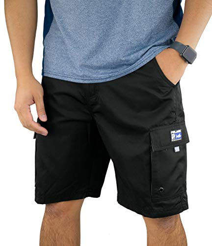 Pelagic Men's Socorro Hybrid Cargo Pocket Fishing Shorts | 7 All-Purpose Pockets