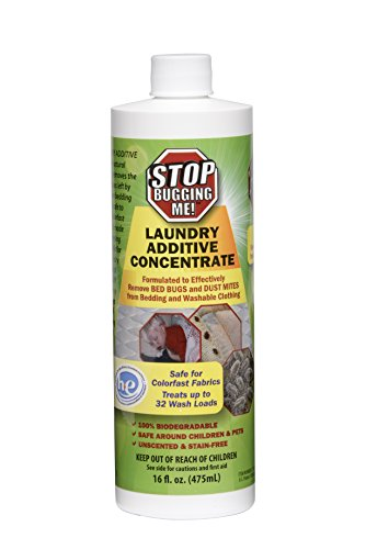 EcoClear Products 774371, Stop Bugging Me! All-Natural Non-Toxic Bed Bug Killer and Repellent, 16 oz. Laundry Additive Concentrate