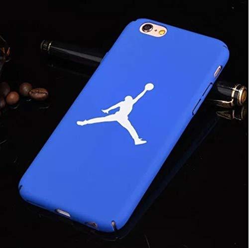 1 piece Air Jordan 23 Cover Case For Iphone 7 Hard Plastic Matte Case For iphone 8 7 6 6s Plus 5 5s Se Phone Cover Bulls Sports Nba Capa (Best Air Jordan 5s)