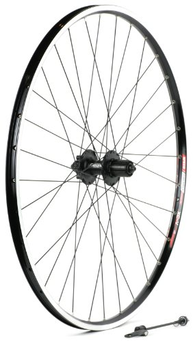 Sta Tru Black Shimano Deore M525 6-Bolt Disc 8-9-10 Speed Cassette Hub Rear Wheel (29Er/700C)
