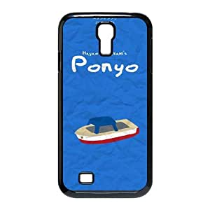 Special Lovely Nostalgic Ponyo Samsung Galaxy S4 9500 Cell Phone Case Black Benefit Cool LHWANGN034513