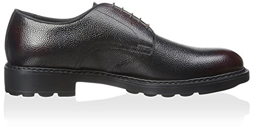 Dino Bigioni Heren Grain Leather Oxford Brown