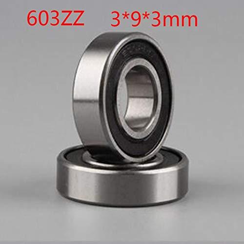Ochoos 3PCS/LOT High Speed 603ZZ Deep Groove Ball Bearings Miniature Mini Bearings 603 603-ZZ 393MM 393 for Printer