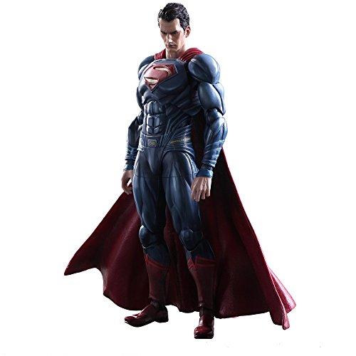 Play Arts Kai - Batman vs Superman Movie Dawn of Justice Superman Complete Scale Action Figure Model DC Comics Square Enix