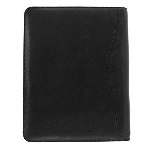 Mala Conferencia Negro Alrededor Toro Piel De Cuero 68 Zip 5100 Colección Carpetas rxwZ0rcqza