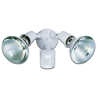Heath Zenith HZ-5408-BZ4 Zenith Heathco Hz-5408-Bz Security Floodlights, 2 Lamp - Incandescent, Bronze - Flood Lighting - .com