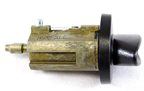 PT Auto Warehouse ILC-280L Ignition Lock Cylinder with Transponder Keys