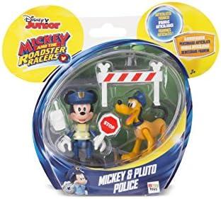 Mickey Mouse- Mickey+ Pluto POLICIA, Multicolor (Propio 182332): Amazon.es: Juguetes y juegos