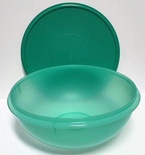Tupperware Fix N Mix Bowl 26 cups Laguna Green