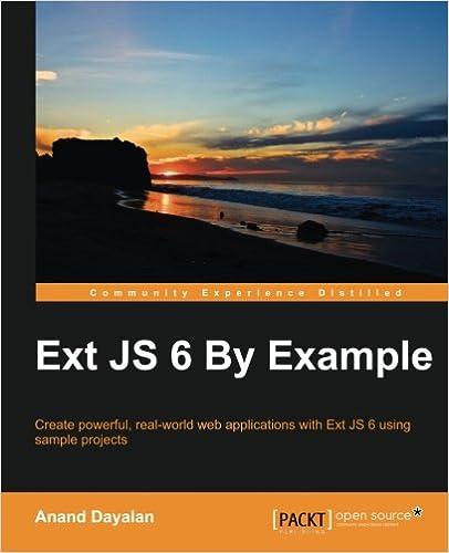 Ext JS Examples