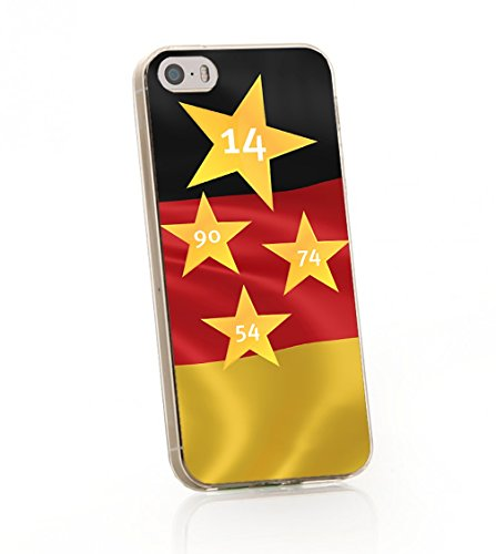 ArktisPRO 1122973 Deutschland Sterne Case für Apple iPhone 4/4S