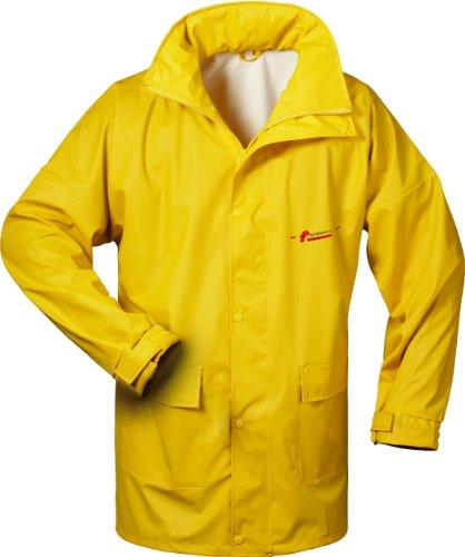 de Norway capucha lluvia nbsp;– nbsp;Varios colores PU amarillo amarillo con chaqueta BBxqRFf