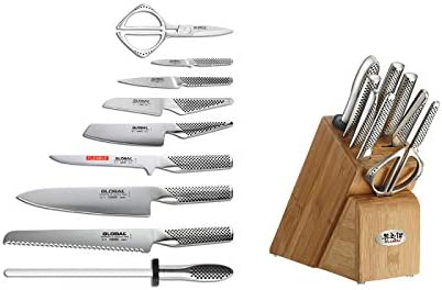 Global Kabuto Knife Set Review