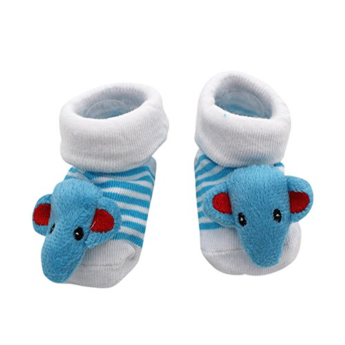 VEKDONE Non Skid Anti Slip Crew Socks With Grips For Baby Toddlers Boys Girls from VEKDONE Shoes