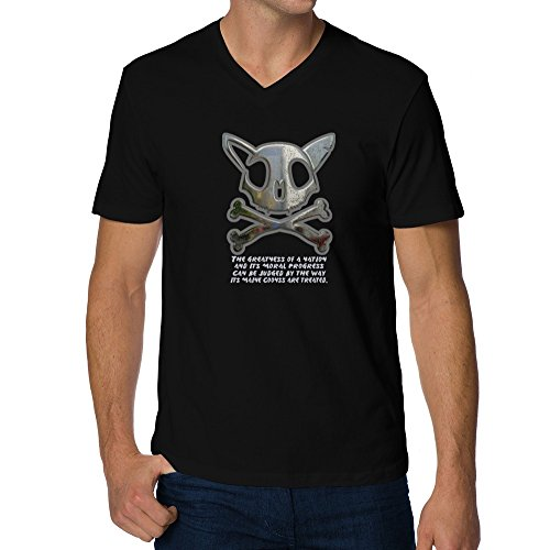 Teeburon The greatness of a nation Maine Coons V-Neck T-Shirt