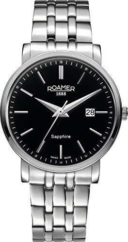 Roamer 709856-41-55-70 Mens Classic Line Silver Steel Watch
