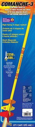 Estes Flying Model Rocket Kit Comanche-3 7245