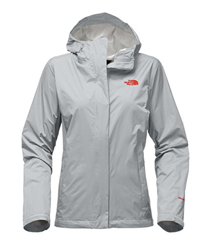 401 Brick (The North Face Women's Venture 2 Jacket - High Rise Grey/Fire Brick Red - 3XL)
