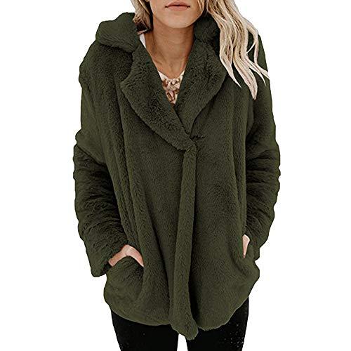 Femme À Mode Blouson Sweatshirt Manteau Vert Blouse Longues Capuche Hoodie Manches Les Chaud Poches Pullover Tops Veste Shobdw Hiver Oga4Iwqx55