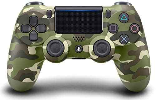 (DualShock 4 Wireless Controller for PlayStation 4 - Green Camouflage (Renewed))