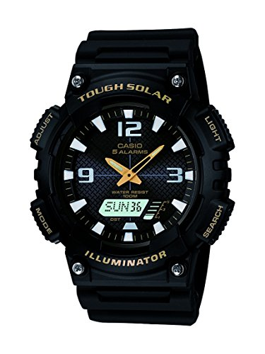 Casio Sports Black Watch AQS810W 1B