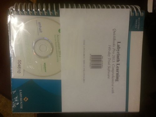 QuickBooks Pro 2013: Comprehensive with 140-Day Trial Software