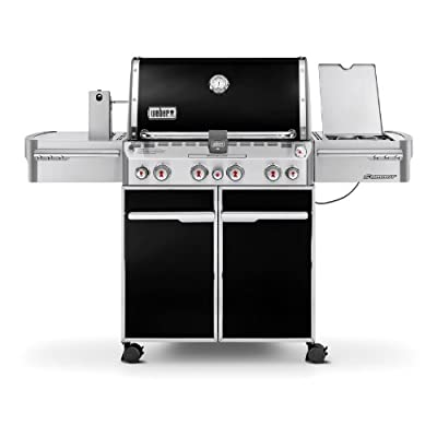 Weber Summit E-470 580-Square-Inch Grill, Black