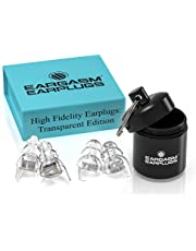 Eargasm High Fidelity Earplugs for Concerts Musicians Motorcycles Noise Sensitivity Conditions and More (Premium Gift Box Packaging)