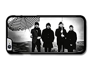 The Beatles Striped Umbrellas Black & White Rockstars case for iPhone 6 Plus by Maris's Diary