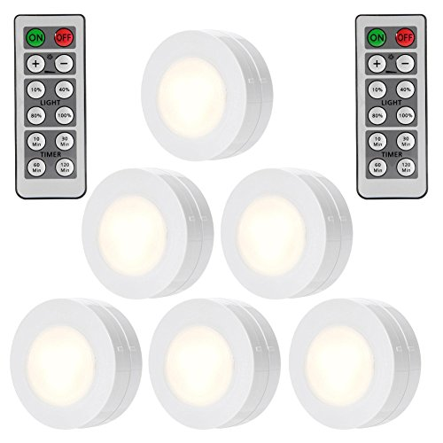 Wireless Led Puck Lights Under Cabinet - 1
