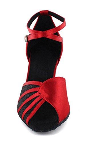 Minitoo - salón mujer Rojo - rojo/negro