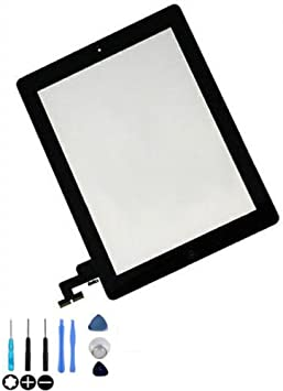 GSHENG Replacement for Ipad 2 touch screen digitizer A1395 A1397 A1396