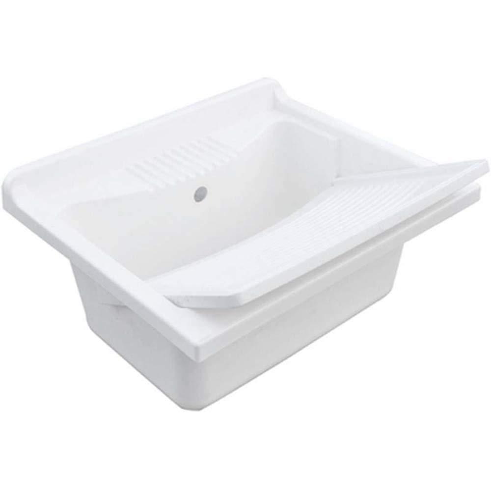 ARCKSTONE Pilozzo Lavatoio Lavanderia Sivep lavabo vasca resina bianco esterno