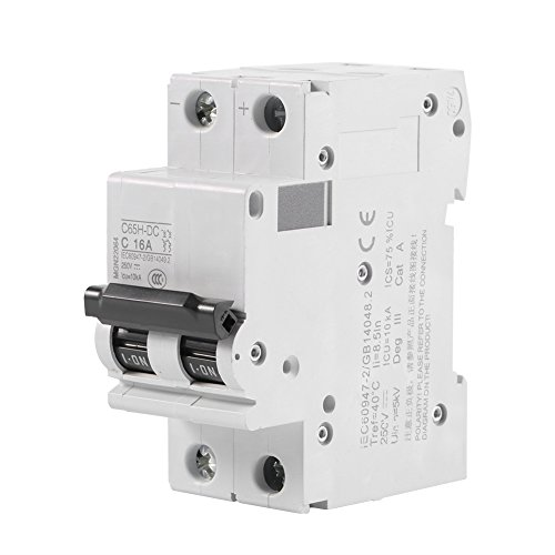 250V DC 2P Low-voltage Miniature Air Circuit Breaker Solar Energy Switch 16A/32A/63A (16A)