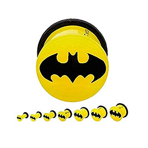 batman 2 gauge ear plugs - 2