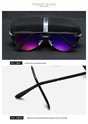 UV C4 Polarizadas Gafas Sol C1 Aviator para 400 Protección para De Mujer Hombre a1HTAax