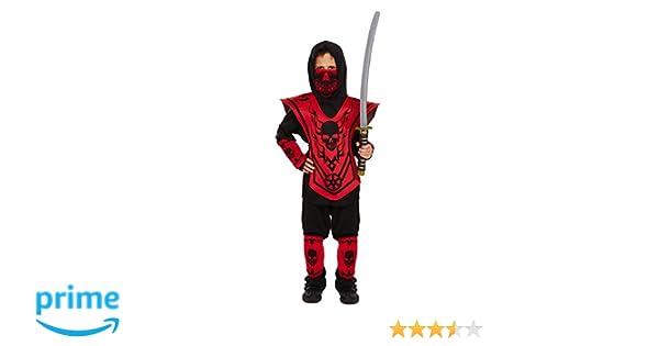Ninja Déguisement ninja pour enfant 4-12 ans