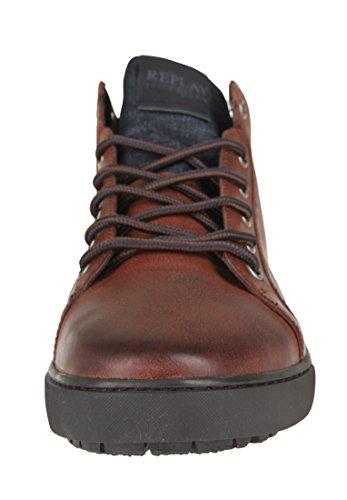 Replay Herren Sneaker Grem Emblem Brown