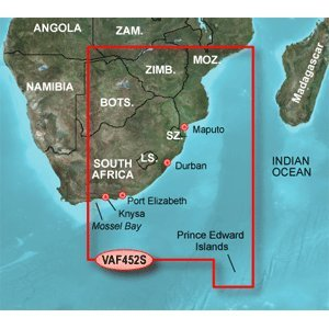 Garmin VAF452S - Knysna SA to Beira MZ - SD Card by Garmin