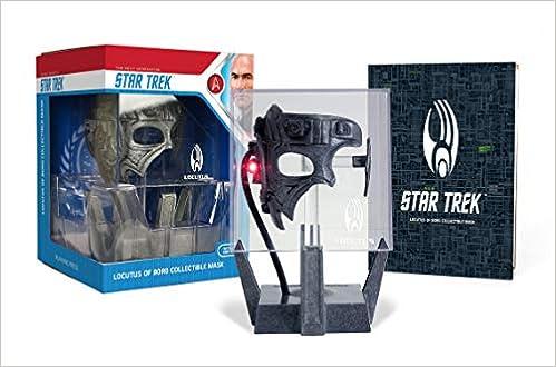 Amazon com: Star Trek: Locutus of Borg Die-Cast Collectible Mask