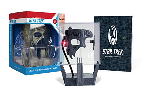 Star Trek: Locutus of Borg Die-Cast Collectible Mask: With Light and Sound! -