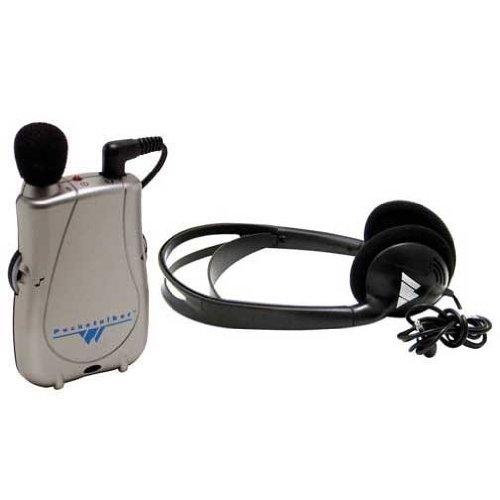 Pocketalker Ultra Personal Sound Amplifier with He...