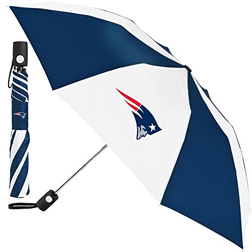 NFL New England Patriots Auto Folding Umbrella