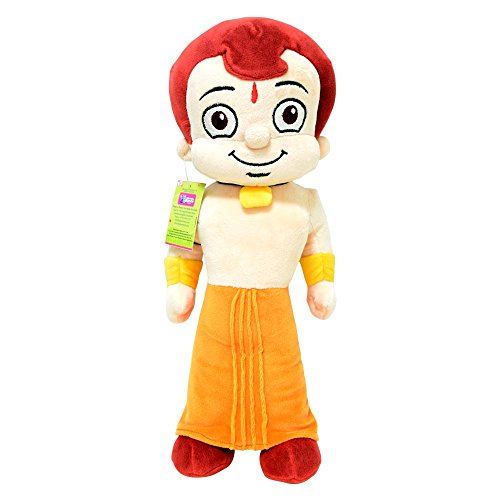 Chhota Bheem Plush Toy, Yellow/Orange  40cm