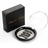 Magnetic Eyelashes with Magnets Handmade 3D/6D Magnet Lashes Natural False Eyelashes Comfortable with Gift Box KS-01