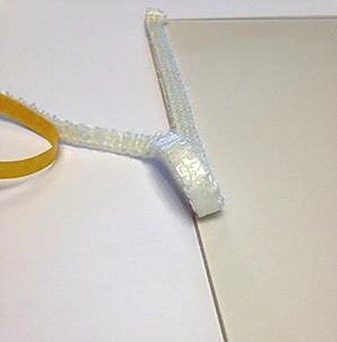 Stufa in vetro di ricambio 8mm x 1m di nastro adesivo per piatto (venduto al metro lineare.) VOYTO